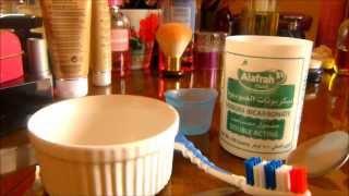 طريقة سهلة لتبييض الاسنان في المنزل DIY