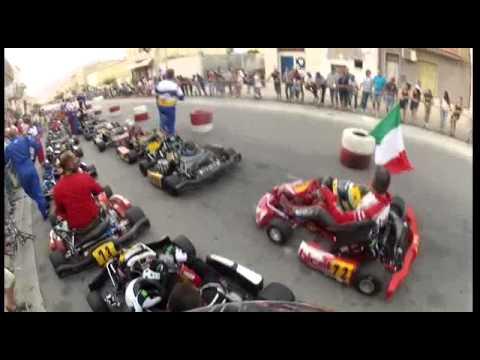 Go Kart Kart Intrepid Raptor K9c Slalom Youtube