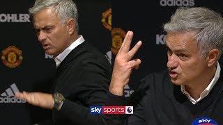 Jose Mourinho storms out of press conference demanding 'respect' thumbnail