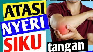 Sakit pergelangan tangan 🤚🏻 / jempol 👍🏻: Sembuhin sendiri dengan cara mudah!.