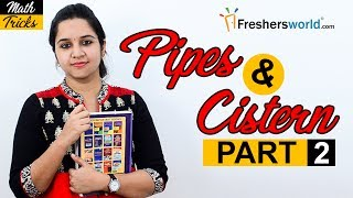 Aptitude Made Easy – Problems on Pipes and Cistern– Part 2, Basics and Methods,Tricks