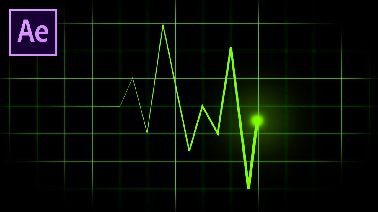Heart Rate Monitor | Pulse Flatline After Effects Tutorial