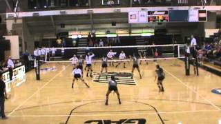 Harding University Volleyball v SEOSU highlights 10.5.13