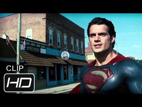 El Hombre de Acero - Clip - Superman vs Faora - Español Latino - HD