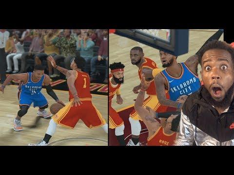 RUSSELL WESTBROOK BROKE DERRICK ROSE ANKLES! NBA 2K18 MyCareer Episode 7