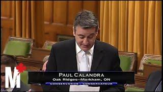 Paul Calandra calls Glenn Greenwald a porn spy