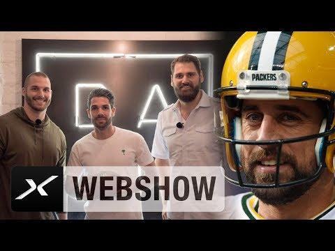 Aaron Rodgers out - Björn Werner und Sebastian Vollmer in | NFL | Hail Mary | Daniel Herzog