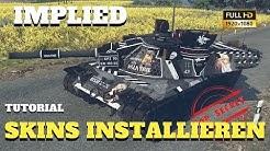 War Thunder - TUTORIAL - so installiert Ihr Tarnungen und Bemalungen auf Euren Fahrzeugen