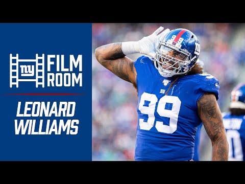 Film Room: Breaking Down Giants DE Leonard Williams' 2019 Game Tape | Inside The Film Room