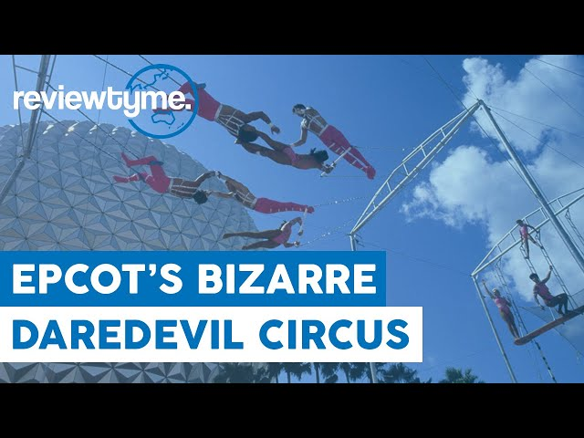 Elephants at EPCOT Center? - Daredevil Circus Spectacular at Epcot | HistoryTyme