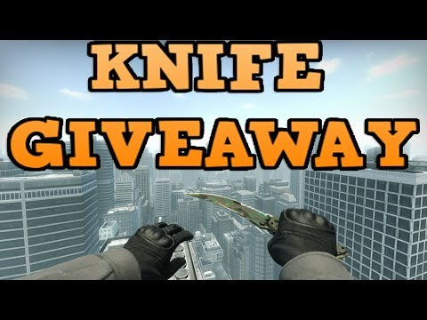 Csgo free knife giveaways