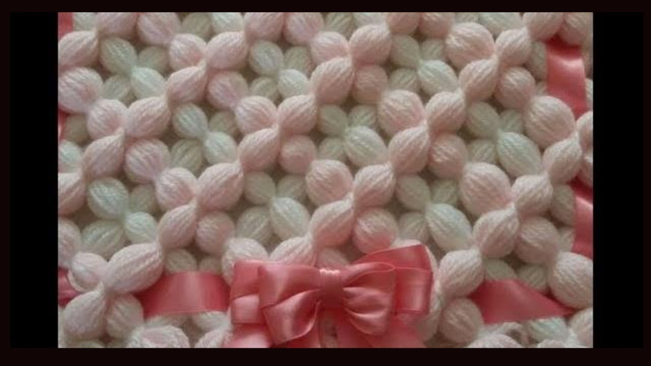 how to make a pom pom blanket make a beautiful 3d puffy flower design