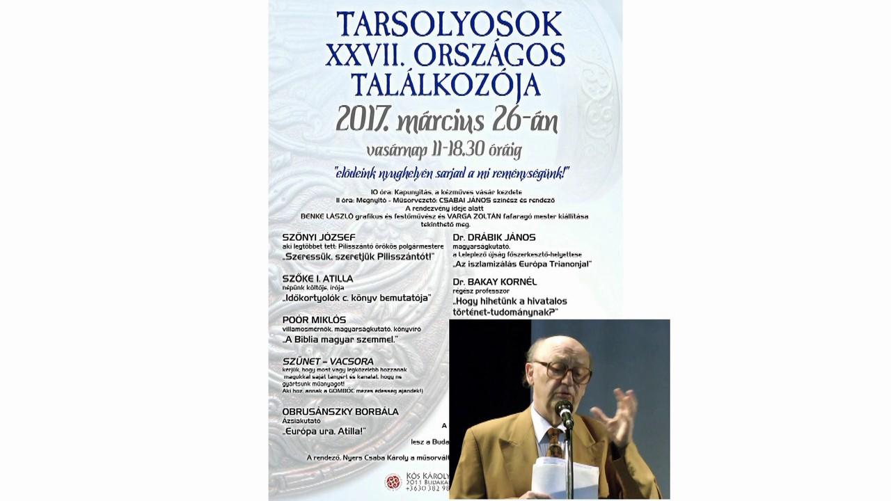 dr.Bakay Kornél - Hogy hihetünk a hivatalos történet-tudománynak