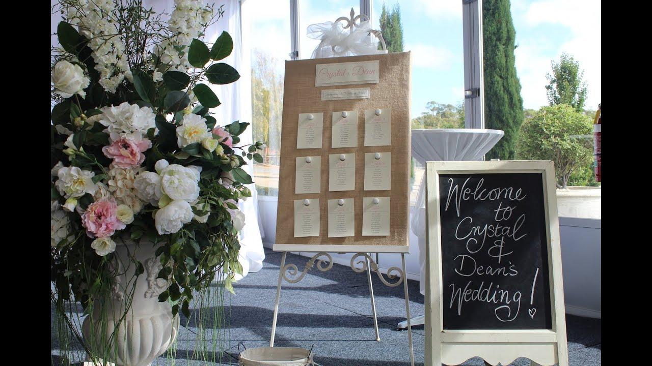 Wedding Diy Rustic Table Number Board Youtube