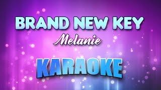 Melanie - Brand New Key (Karaoke & Lyrics)