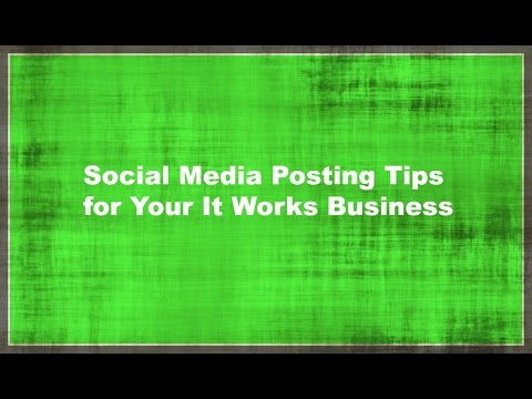 Social Media Posts for Your It Works Business