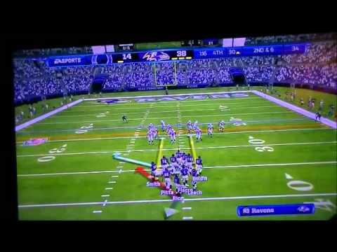 Madden 13 WK12 December 2 2001 Colts @ Ravens 4th QT
