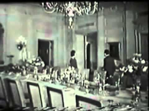 White House Tour with Jackie Kennedy (1962 Documentary Film)