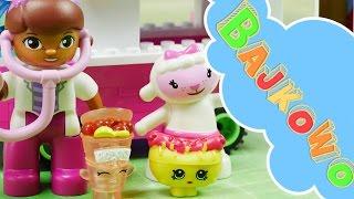 Ciężarówka z jedzeniem | Shopkins Kinstructions & Lego Duplo Klinika dla pluszaków | Bajki