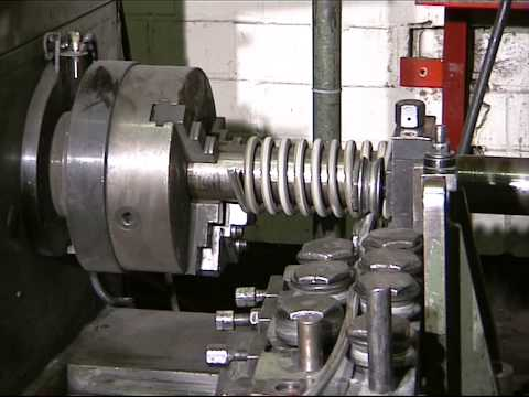 Coiling a spring