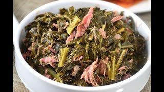How to Cook Southern Style Collard Greens - Beginner Friendly Recipe!