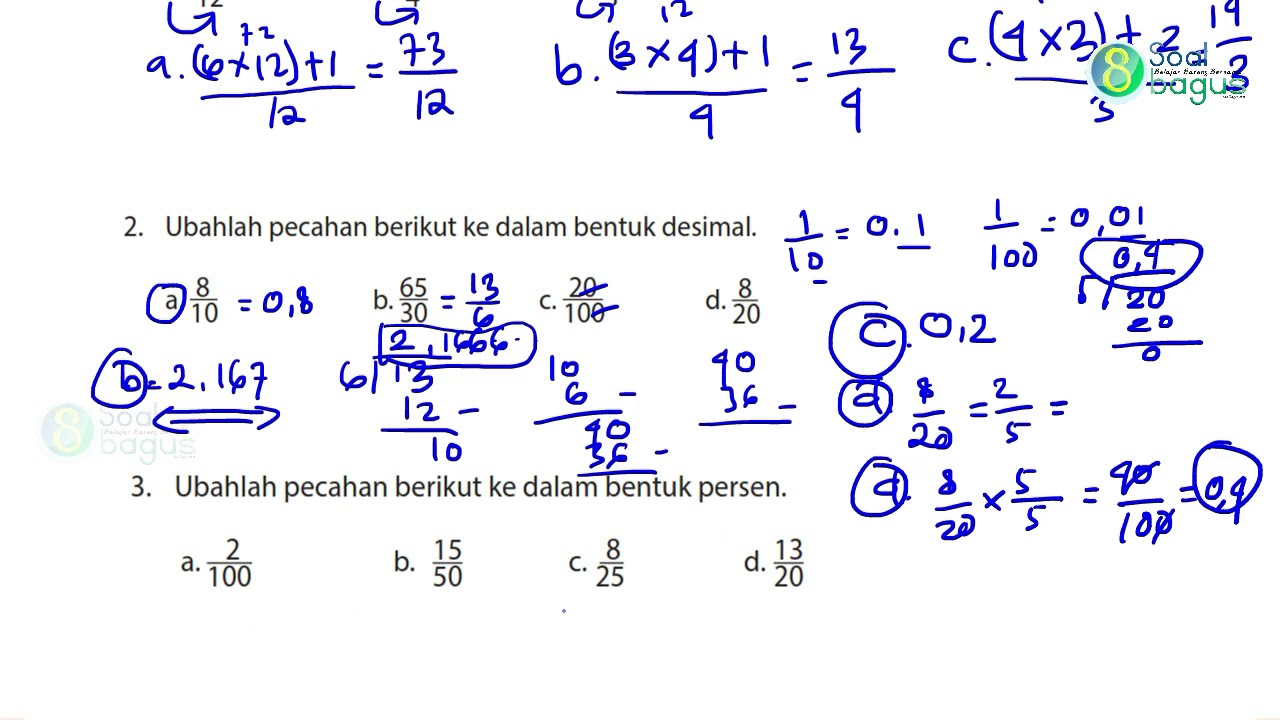Kunci Jawaban Matematika Kelas 4 Halaman 29 Bse Matematika Kelas 4 Revisi 2018 Youtube