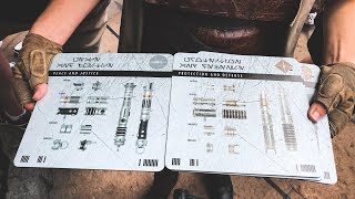 CUSTOM LIGHTSABER EXPERIENCE at Star Wars Galaxy's Edge