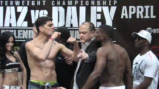 Nick Diaz vs Paul Daley - The Staredown