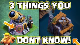 3Things You Don't Know About The Builder Base In Clash Of Clans| Chief Zivox |