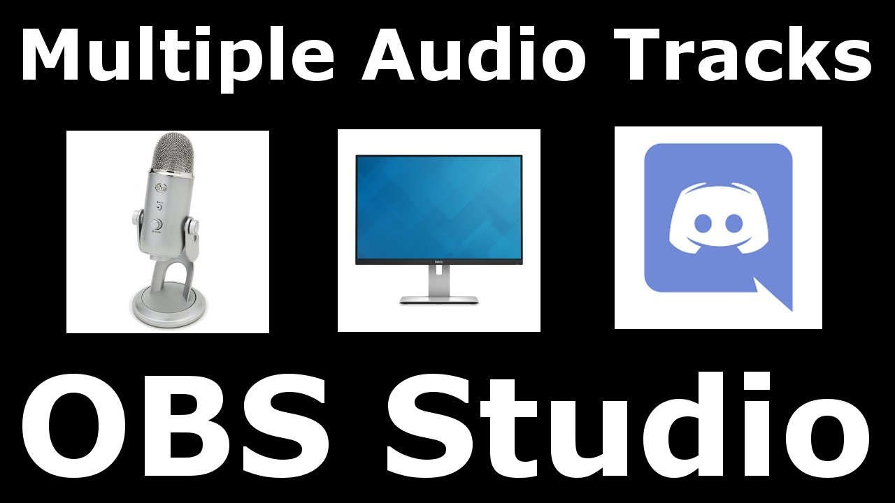 How to Separate your Audio in OBS Studio! Separate  Microphone/Desktop/Discord/Teamspeak sound!