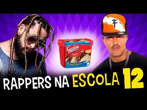 RAPPERS NA ESCOLA12 ! Racionais, Hungria, Edi Rock e Look