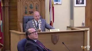 Mayor Mitch Panciuk statement during council
