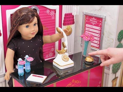 American Girl Doll Grand Hotel Room