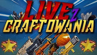 Fortnite-CRAFT A SHRONKA, Grabarz, Nocturno-giveaway-saving the world-LIVE