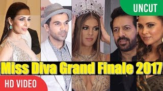 UNCUT - Miss Diva Grand Finale 2017 | Malaika Arora, Lara Dutta, Rajkummar, Iris Mittenaere & More