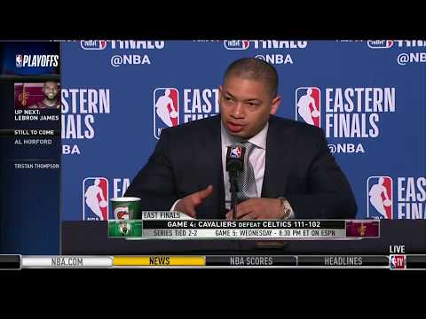Coach Tyronn Lue | Eastern Conference Finals Game 4 Press Conference