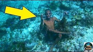 اكتشاف غريب جدا , قوم يعيشون تحت البحر ولا يمرضون تعرف عليهم الان !!