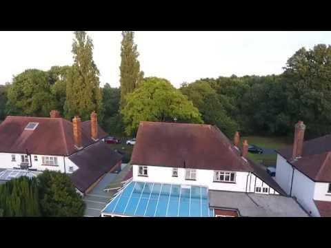 Flight above Weston Green Thames Ditton KT7