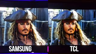 Pirates of the Caribbean 4K HDR Comparison Samsung vs TCL