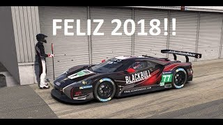 Iracing - Feliz año nuevo!  (Ford GTE @ Silverstone)