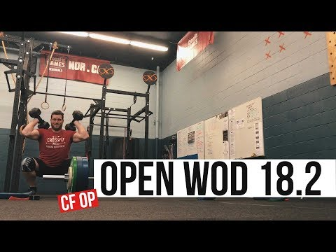 CrossFit Games Open Workout 18.2 | Burpees, DB Squats and Max Clean | Bigmansyndrome
