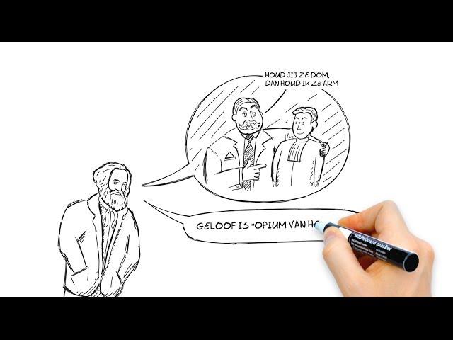 Whiteboard Animatie - EO - Karl Marx