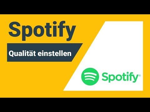 Spotify Qualität einstellen