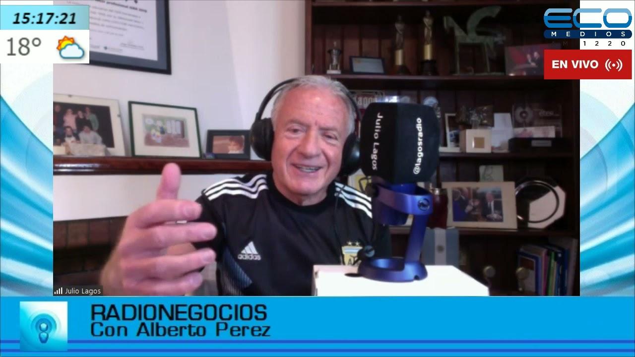 Julio Lagos en radionegocios 2021-05-13