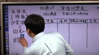 初めての簿記入門 柴山式4級講座 27 貸借対照表 b s