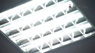 видео Энергосберегающие купольные светильники