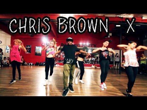 X  CHRIS BROWN Dance  Class  @MattSteffanina ft **Lil Monsters!!