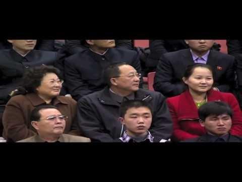 Dennis Rodman/Harlem Globetrotters in North Korea- Part I
