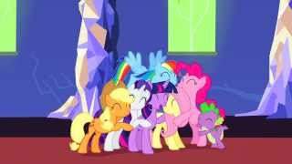 MLP FiM - Let The Rainbow Remind You + Castle Scene 60FPS