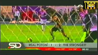 Real Potosi 1 The Strongest 2, Relato Marcelo De La Cruz, Clausura 2014-2015